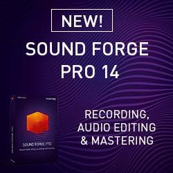 SOUND FORGE Pro 14
