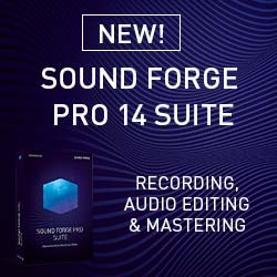 SOUND FORGE Pro 14 Suite